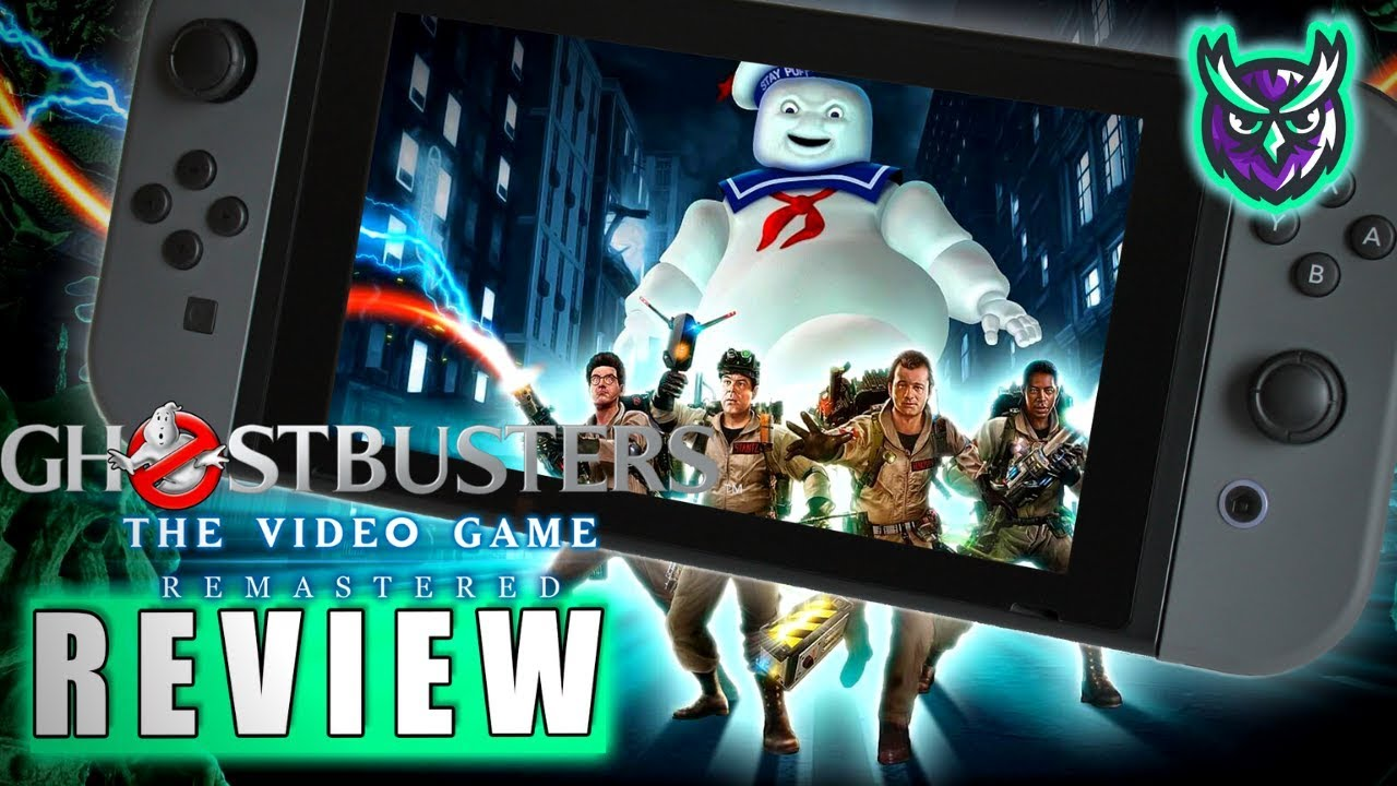 ghostbusters video game remastered review - Ghostbusters: The Video Game Remastered Review (PS4)  Push Square Manga Art Style