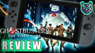 Ghostbusters: The Video Game Remastered Switch Review - WHO YOU GONNA CALL! (Video Game Video Review)