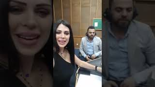 النجم وفيق حبيب مع نانسي
