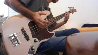 Red Hot Chili Peppers Goodbye Angels Bass Cover