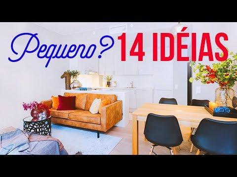14 IDEIAS PARA SUA CASA PEQUENA: Aproveite melhor os espaços