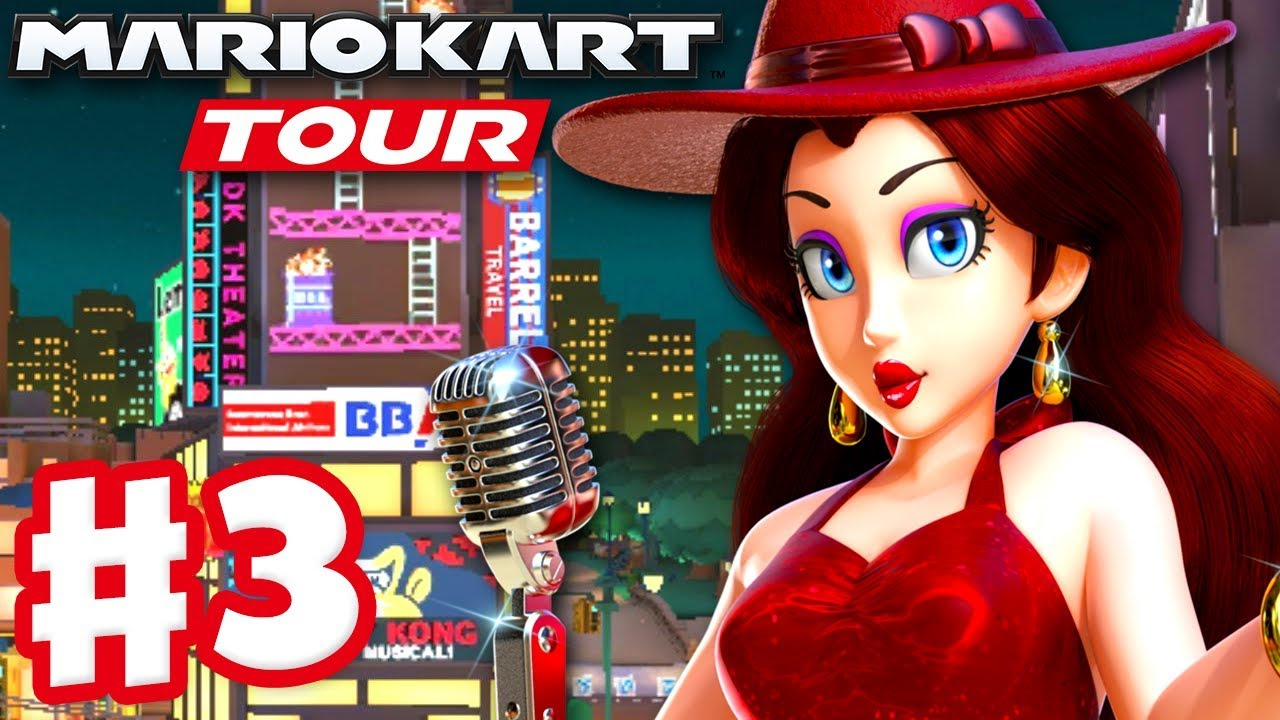 Mario Kart Tour Gameplay Part 3 Pauline Koopa Troopa Cup And Toad Cup 200cc Ios