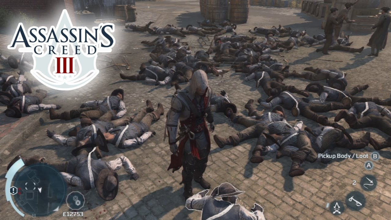 Assassin S Creed 3 Ac3 Epic Battle Gameplay Longest Fight In Ac