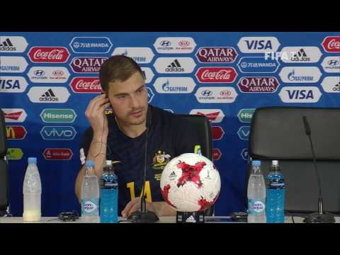 CHI v AUS - James TROISI - Australia Post-Match Press Conference