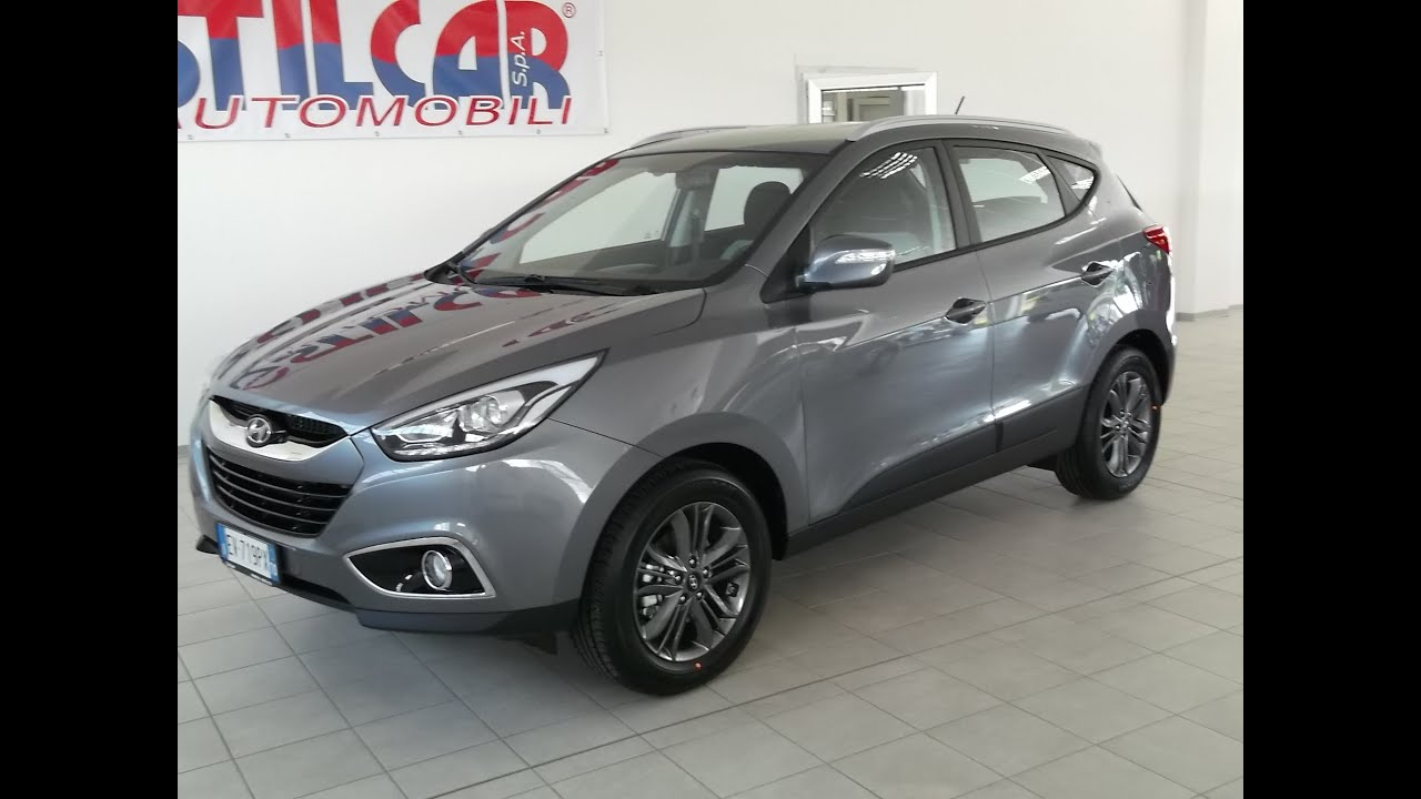 Hyundai Ix 35 17 Crdi Confort Con Pack Plus Steel Grey Nuovo Youtube