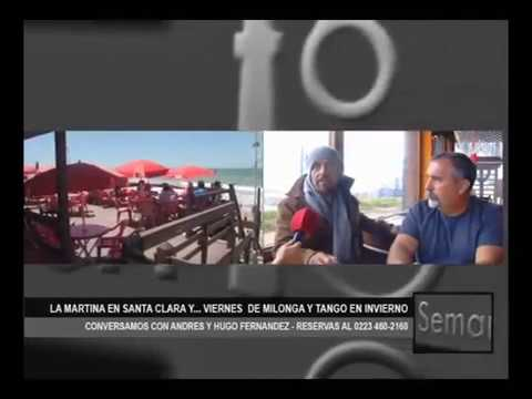 TANGO EN SANTA CLARA DEL MAR - HUGO FERNANDEZ LA MARTINA