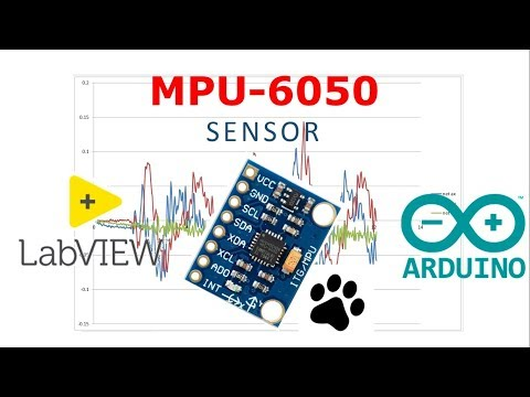 Sensor MPU-6050 En LabVIEW y Arduino