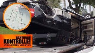 Fahrer muss aus dem Auto geschnitten werden! Was ist passiert? | Achtung Kontrolle | kabel eins