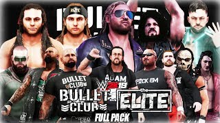 WWE 2K19 - Bullet Club/The Elite Full Entrance Pack [Prince Devitt, Young Bucks, Kenny Omega & Cody]