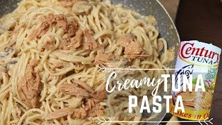 Creamy Tuna Pasta - Pasta Recipes - Pinoy Recipes
