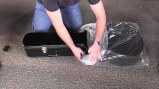 Unpacking Epiphone Jumbo Hardshell Guitar Case