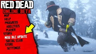 The NEW Red Dead Online DLC Update... New UP IN SMOKE Gamemode & Clothing (Red Dead Online Update)