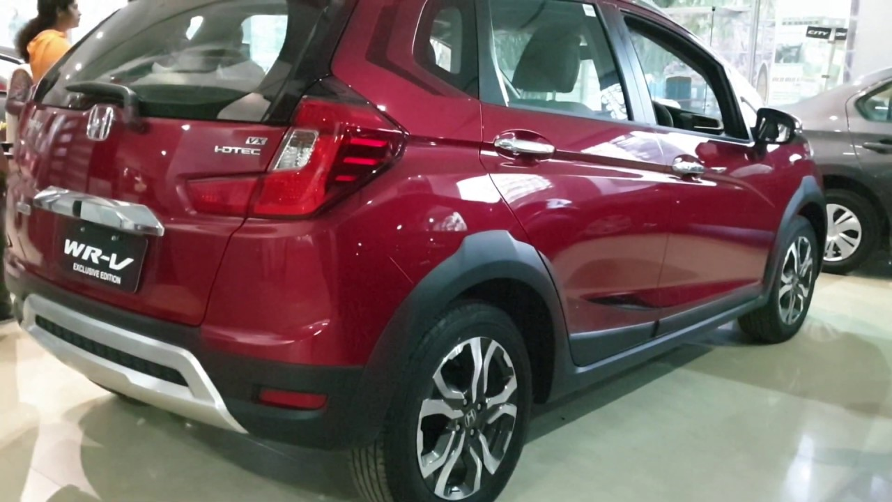 2019 Honda Wrv Exclusive Edition Launchednew Alloy Stickers And