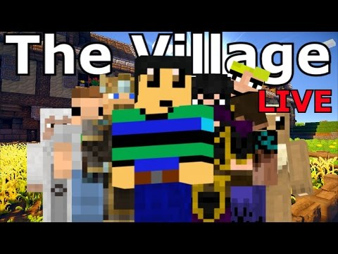 The VILLAGE LIVE - Minecraft MASSIVE Roleplay
