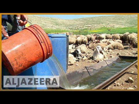 🇮🇱 🇵🇸 Israel control of Palestinian water supply hits farmer
