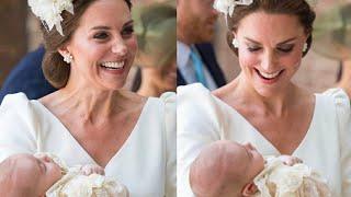 видео Официальные портреты Кейт Миддлтон и принца Уильма с крещения принца Луи представлены Кенсингтонским дворцом