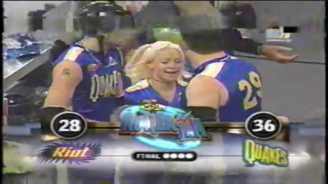 Rollerjam Caifornia Quakes Vs Illinois Riot From 2000 On
