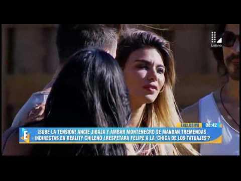 Angie Jibaja y Ámbar Montenegro protagonizan pelea en reality chileno