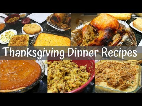 easy-thanksgiving-dinner-recipes-//-how-to-cook-thanksgiving-dinner