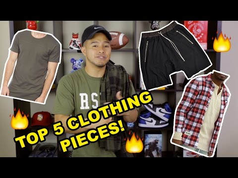 TOP 5 CLOTHING PIECES FOR BACK TO SCHOOL