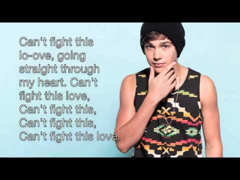 Can't Fight This Love by Austin Mahone (Lyrics)