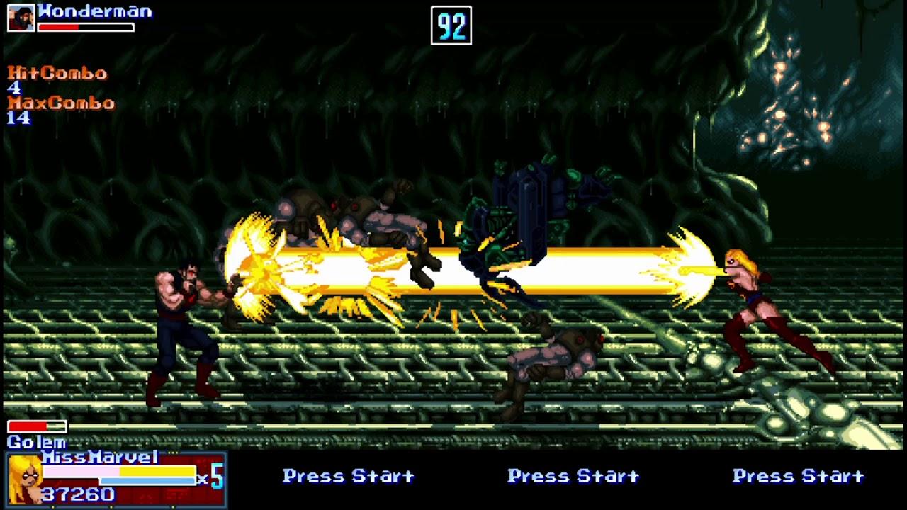 Nvidia Shield K1 Tablet OpenBOR Marvel Infinity War Gameplay Part 5