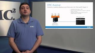 EMC Avamar 7 Hyper-V Backup and Recovery Video