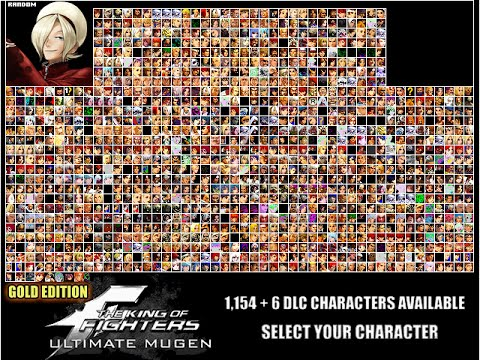 (New ) King OF Fighter Ultimate Mugen Download ( 1154 + 6 Character Available )