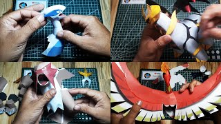 Papercraft Legendary Pokemon Compilation