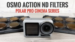 PolarPro ND Filters For DJI Osmo Action | Vivid & Shutter Collection