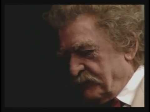 Hal Holbrook as Mark Twain dissing Congress