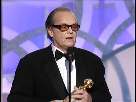 Jack Nicholson Wins Best Actor Motion Picture Drama - Golden Globes 2003