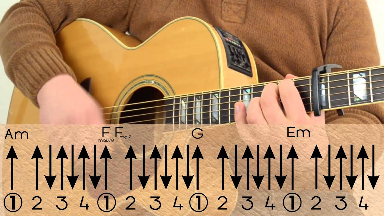 Passenger - Let her go Chords/Lesson/Tutorial/How to Play
