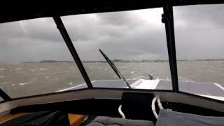 Conamaro - Veere bis Wolphaartsdijk - Sturm im Veerse Meer