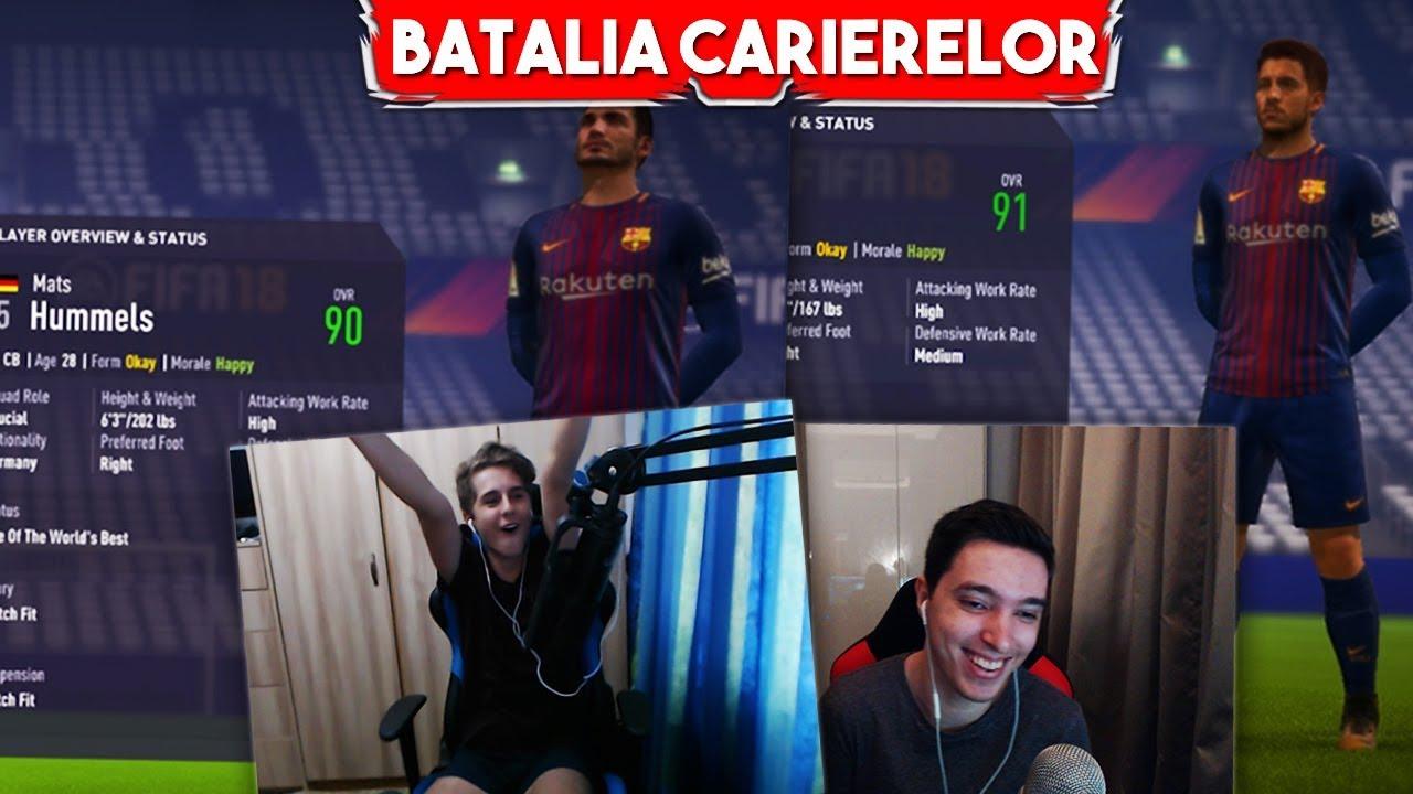 HAZARD&MULTE TRANSFERURI LA BARCA ! | BATALIA CARIERELOR cu Theo