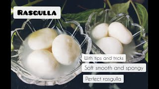Rasgulla Recipe | Bengali Rasgulla at home | Easy Rasgulla Recipe | Soft Spongy | My Mumma's KitChen
