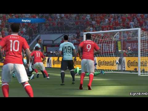 UEFA Euro 2016 Wales vs Belgium PES 2016 Game