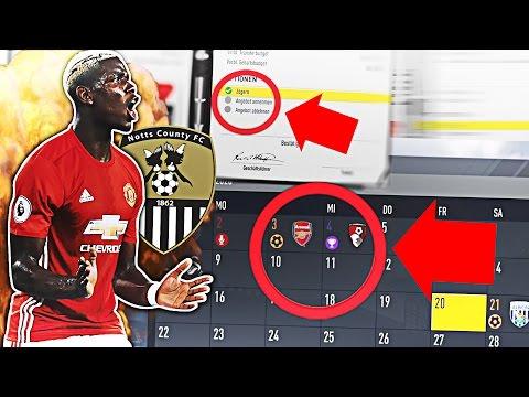 POGBA KOMMT!!! (NO CLICKBAIT) - 3 POKALE IM 1. JAHR OBEN!?? | FIFA 17: NOTTS COUNTY STG KARRIERE #16