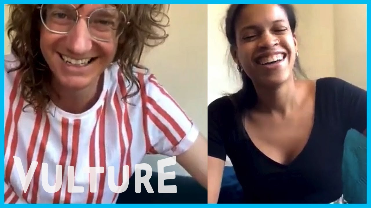 Chris Fleming and Taylor Garron Chat About Life in Quarantine