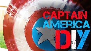 Captain America Shield - Diy Tutorial
