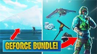 *NEW* Exclusive Reflex Skin Bundle / Up-close to the Iceberg (Fortnite)