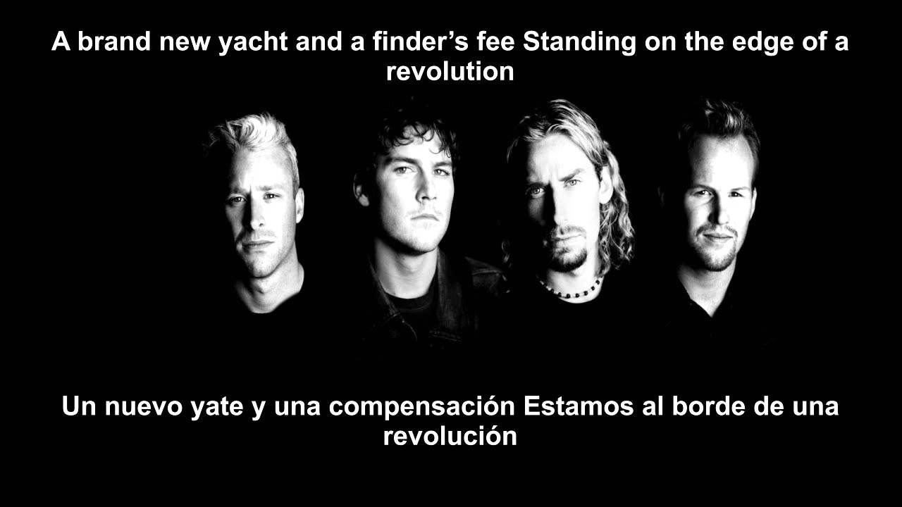 Nickelback - Edge Of a Revolution (LETRA EN ESPAÑOL E INGLES)