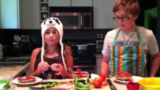 Kids In The Kitchen Episode One: Portabella Pizza