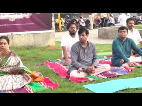 International Yoga Day | Yoga led by Yoga Master Venkatraman