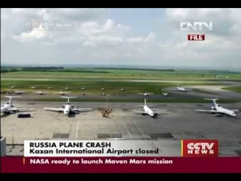 Plane crash in Russia's Kazan kills 50 people onboard