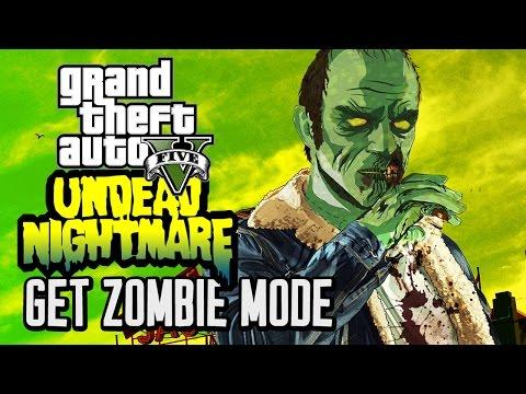 GTA V: UNDEAD NIGHTMARE! ZOMBIES MODE (PARODY)