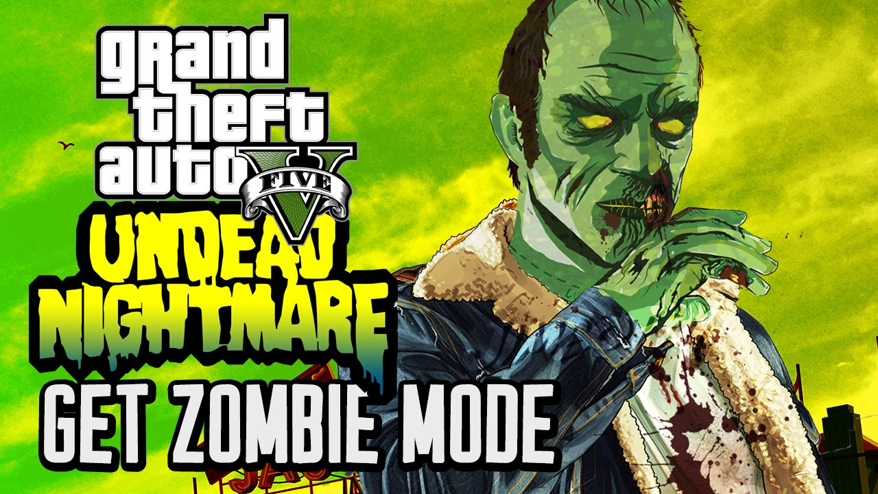 Zombies Mode In Grand Theft Auto Youtube