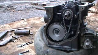 Сборка двигателя ВАЗ 2106 (Нива) часть 2. Сделай Сам!