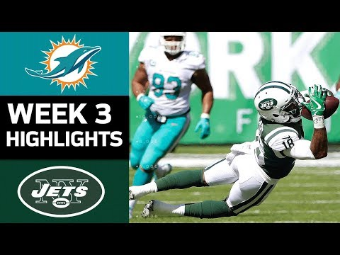 Dolphins vs. Jets | NFL Week 3 Game Highlights