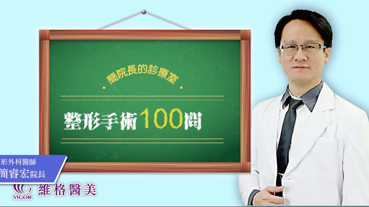 維格整外100問-簡睿宏醫師-Q4 乳頭和乳暈有辦法縮小嗎 - YouTube